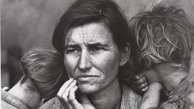 «Human erosion (madre migrante)», de Dorothy Lange