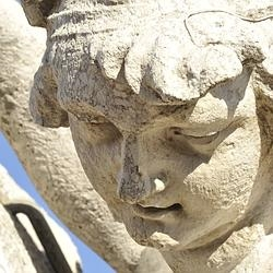 Algunas esculturas mostraban erosión