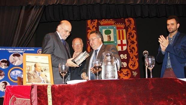 Ángel González Abad, Fernando del Arco, Florencio García y Paco Píriz