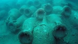 El barco romano que transportaba lingotes y alimentos para Nerón