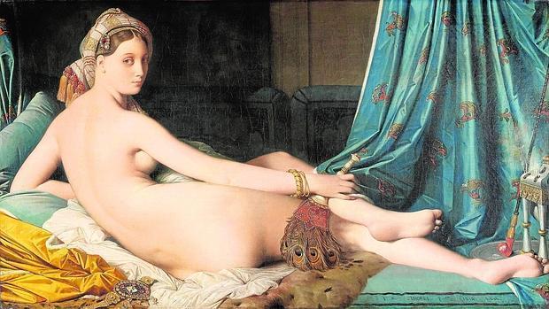 «La gran odalisca» (1814), de Ingres
