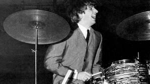 La batería de Ringo Starr, a subasta