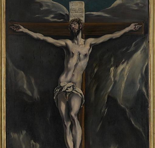 «Cristo en la Cruz», del Greco