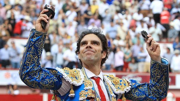 José Tomás, el pasado mayo en su feliz regreso a Aguascalientes