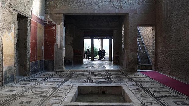 «Resucitan» seis espléndidas domus en Pompeya