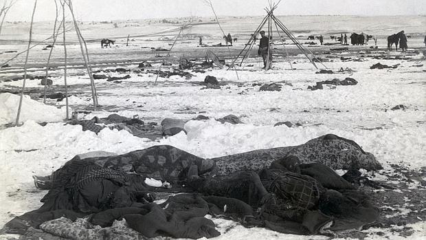 Wounded Knee, la masacre navideña del Séptimo de Caballería