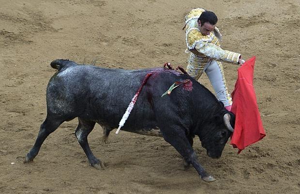 Ponce, durante su faena en Cañaveralejo