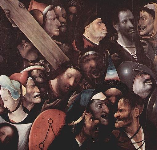 «Cristo con la Cruz a cuestas», cuya autoría al Bosco ha sido retirada