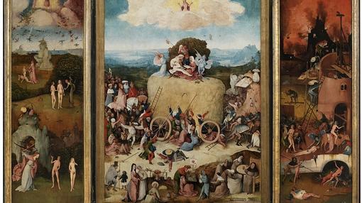«El carro de heno», del Bosco