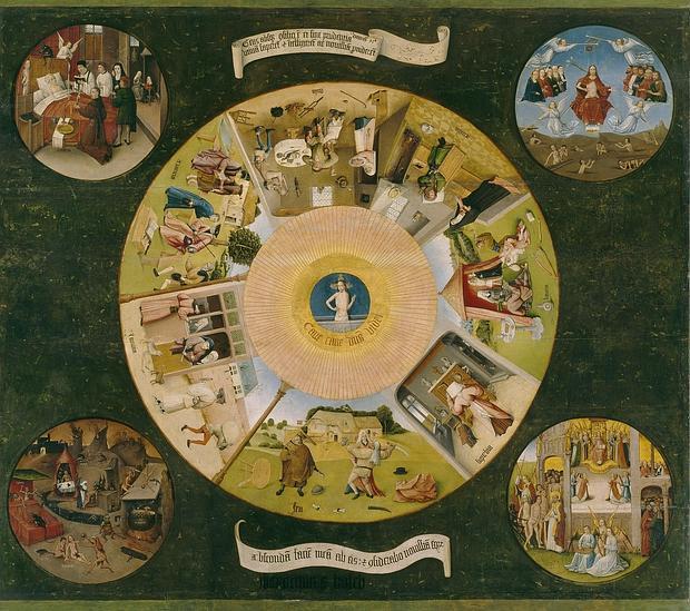 «La Mesa de los Pecados Capitales», del Bosco