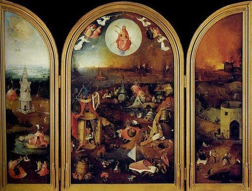 «El Juicio Final», obra que ha sido atribuida al Bosco
