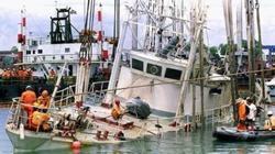El naufragio del Calypso en 1996