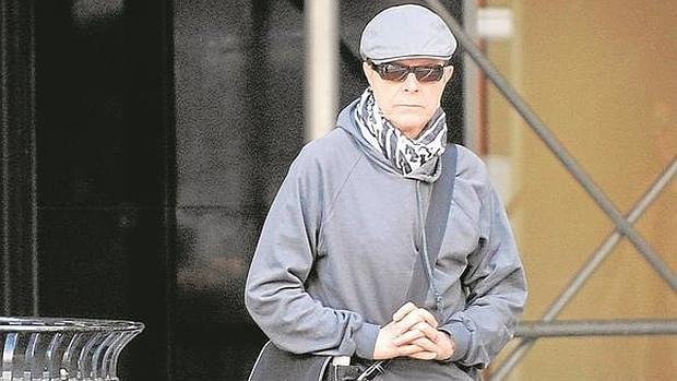 David Bowie, en Manhattan en octubre de 2012