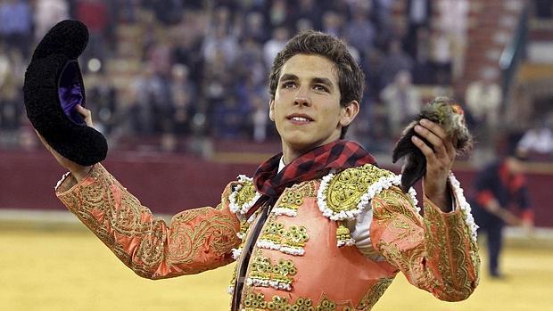 Ginés Marín, el pasado octubre en Zaragoza
