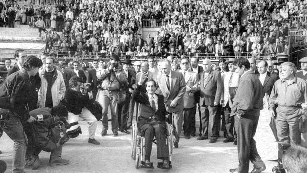 Homenaje a Julio Robles en Las Ventas