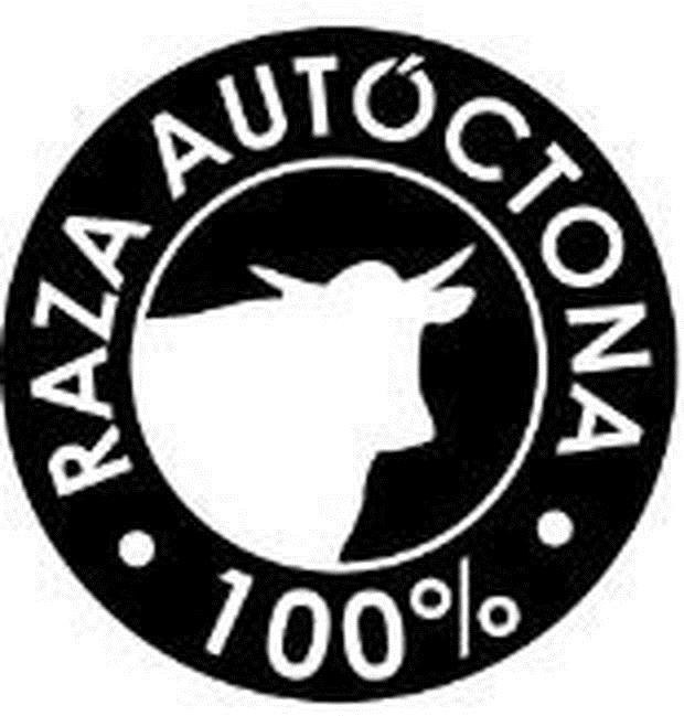 Logotivo de Raza Autóctona cien por cien
