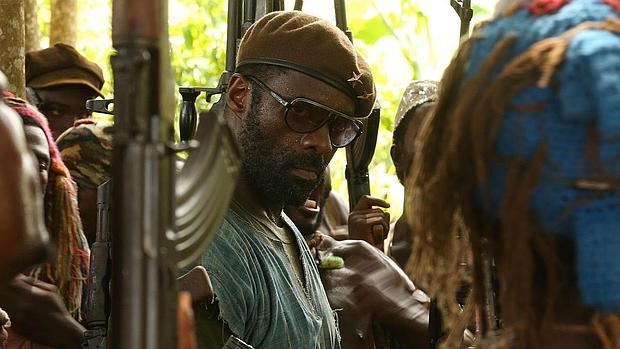 Idris Elba, en «Beasts of No Nation», es una de las llamativas ausencias en las nominaciones a los Oscar