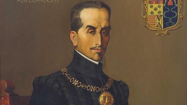 Retrato del Inca Garcilaso de la Vega