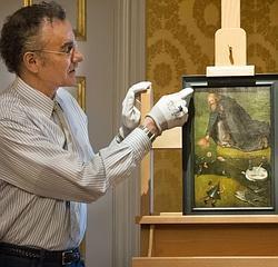 «Las tentaciones de San Antonio», del Museo de Kansas, ha sido atribuido al Bosco