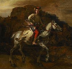 «El jinete polaco», obra de Rembrandt sobre la que hay muchas dudas