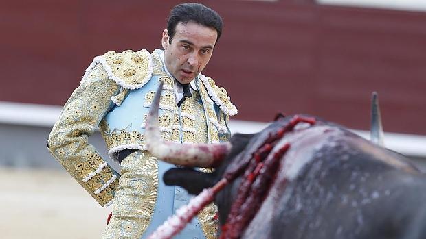 Enrique Ponce, en Las Ventas