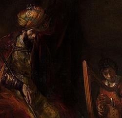 «Saúl y David», de Rembrandt