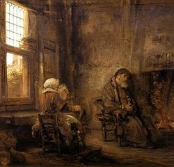 «Tobías y su esposa», de rembrandt
