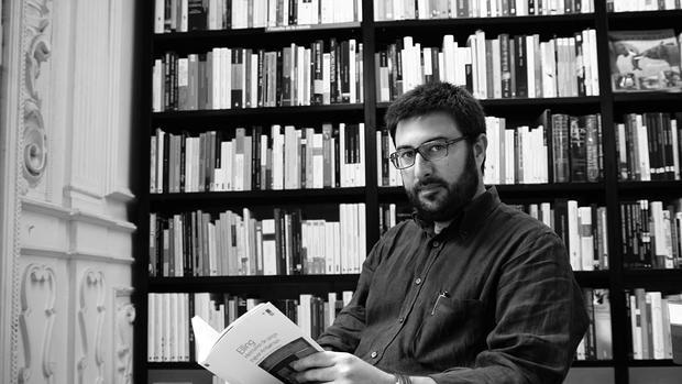 El editor de Nórdica, Diego Moreno