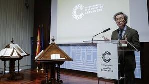 El secretario de Estado de Cultura, José María Lassalle, durante la reunión plenaria de la Comisión Nacional del IV Centenario de la muerte de Cervantes