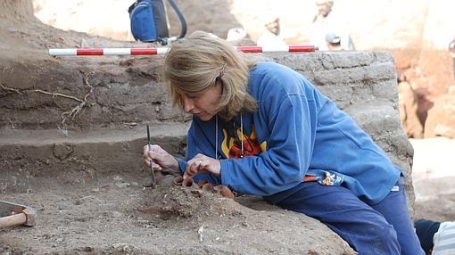 Pérez Die en plena excavación