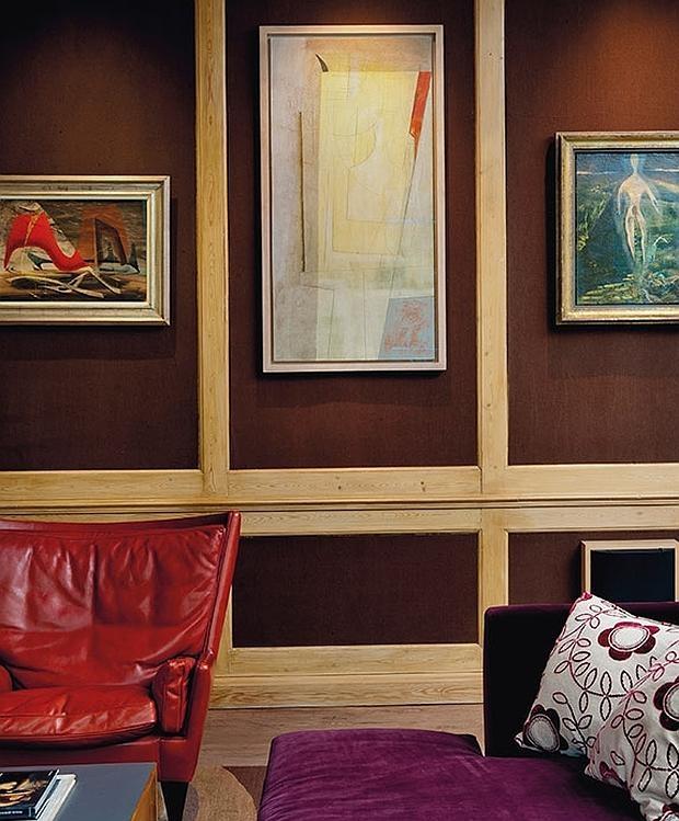 La joya de la corona es una obra de Ben Nicholson, «March 55» (en el centro de la imagen)