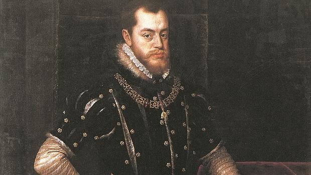 Felipe II, por Tiziano