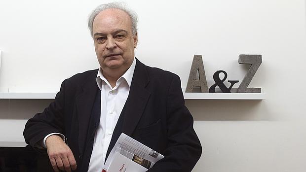 Vila-Matas, durante la presentación del libro en Barcelona