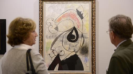 Obra de Miró en Leandro Navarro