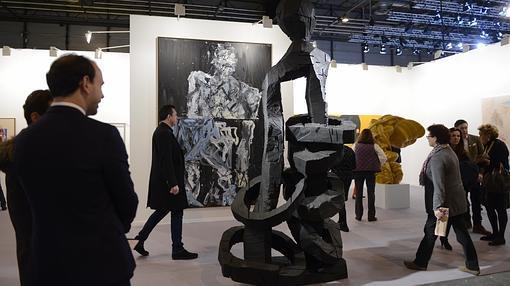Pintura y escultura de Baselitz en Thaddaeus Ropac