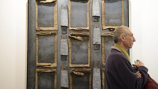 Un Kounellis en la galería Kewenig