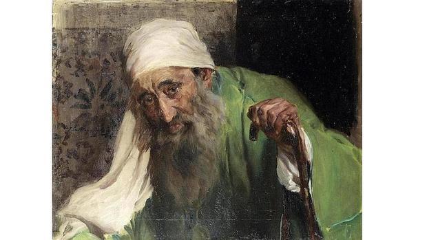 «Un hebreo», obra de Joaquín Sorolla
