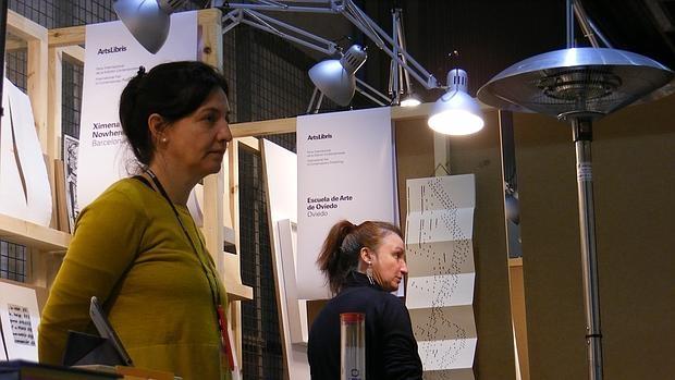 Detalle de la feria de Arts Libris que se celebra en ARCO