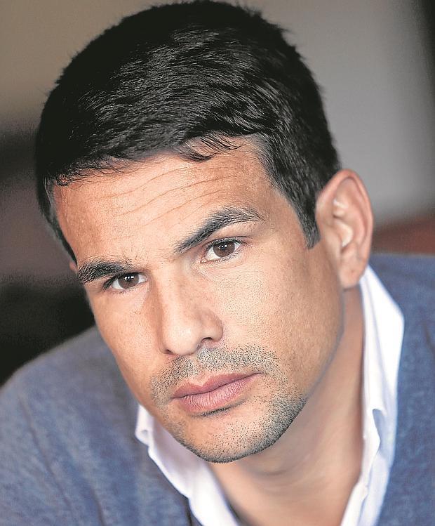 José María Manzanares, durante la entrevista