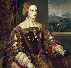 Isabel de Portugal, retratada por Tiziano