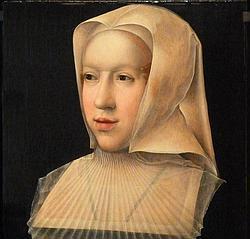 Margarita de Austria, retratada por Bernaerd van Orley
