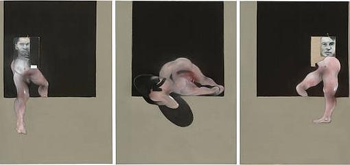 Tríptico 1991, obra de Bacon para la que posó José Capelo y que está en el MoMA