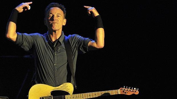 Bruce Springsteen, en mitad de un concierto en Santiago de Chile