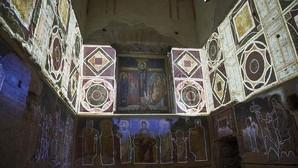Los espléndidos frescos de la basílica de Santa María Antigua han sido recuperados en buena parte
