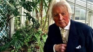 Hugh Thomas, durante la entrevista, en su casa de Notting Hill, en Londres