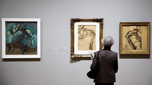 Tres obras de Degas centradas en sus bailarinas