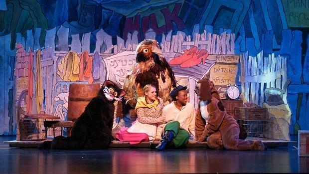 epresentación de Brundibár en el Teatro de Ópera de Pittsburgh