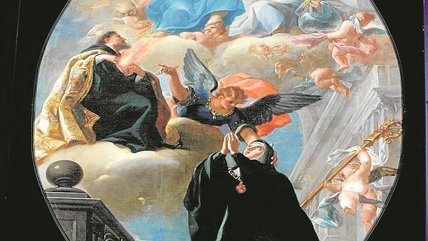 «Visión de Santa Gertrudis», de Isidoro Arredondo, que el conde de Quinto sustrajo de la Trinidad