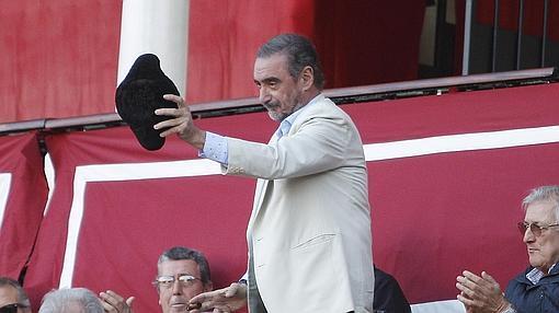 Carlos Herrera recibió el brindis de Pepe Moral