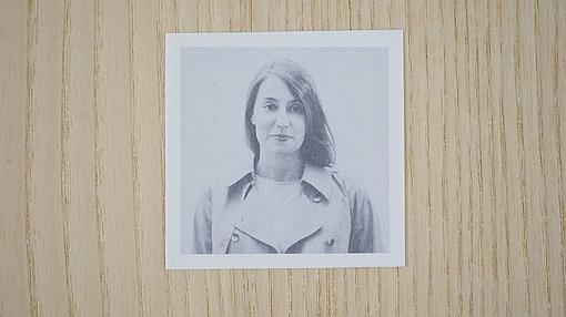 Retrato de un retrato de María Platero